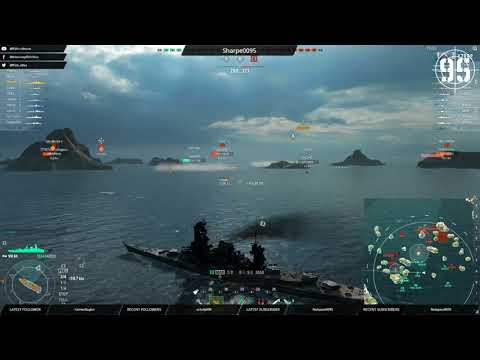 [95th] [WoWS-ASIA] Friday shipping forecast - Westerly 7, very rough random? (171117)