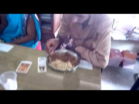 Non-Veg food at government aided school
