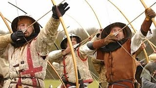 MIDIEVAL WEAPONS AND COMBAT - The Longbow (MIDDLE AGES BATTLE HISTORY DOCUMENTARY)