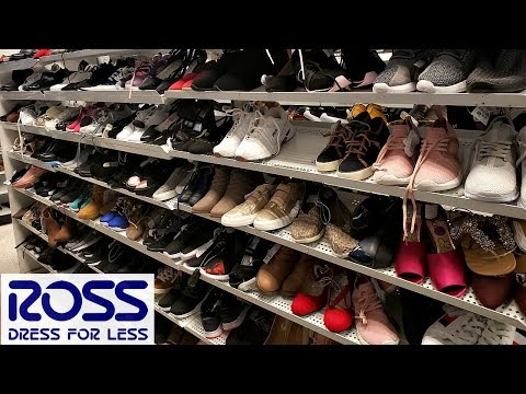ROSS SHOES SHOPPING SNEAKER HEELS WALK THROUGH 2018