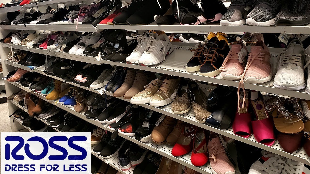 d2ee39e13e6 ROSS SHOES SHOPPING SNEAKER HEELS WALK THROUGH 2018