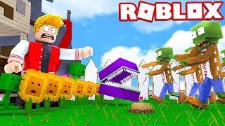 PLANTAS VS ZUMBIS NO ROBLOX ! (Gardens vs Graves Battlegrounds)