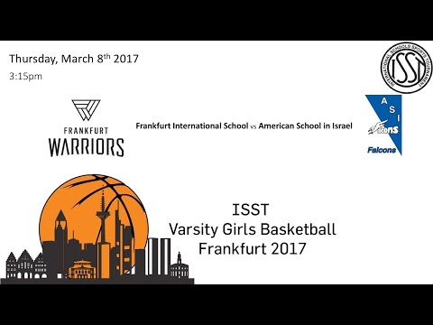 ISST Varsity Girls Basketball: FIS vs ASI