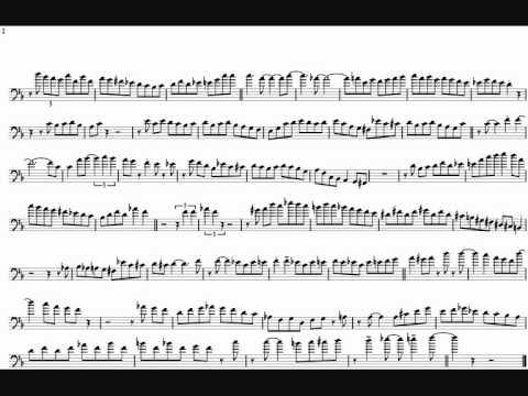Bob Mchesney 'Straight No Chaser' Trombone Solo Transcription