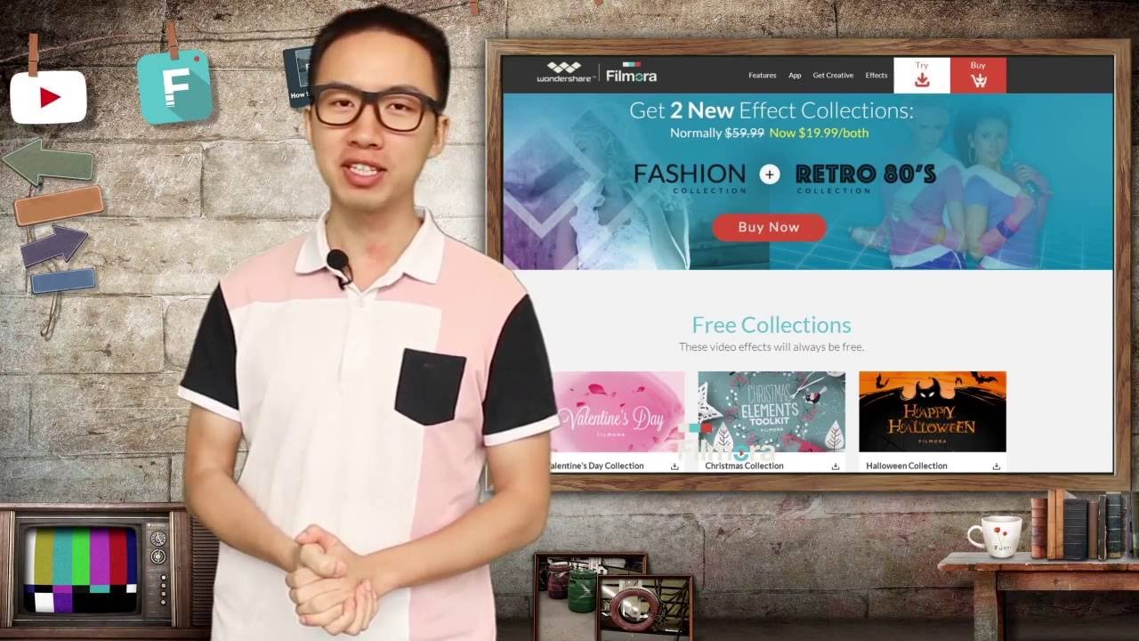 Best Video Effects Software with over 1000 video effects and New themed  collection every month!