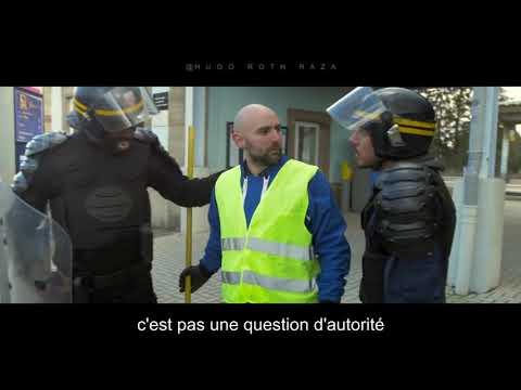 CRS vs GILETS JAUNES - À Genoux ( PARODIE JALOUX DADJU) feat MOUSSIER TOMBOLA