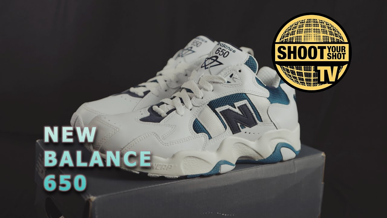 New Balance 650 unboxing and review   More Dad Shoes!