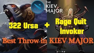 Game of throw in Kiev Major ► The Kiev Major Dota 2