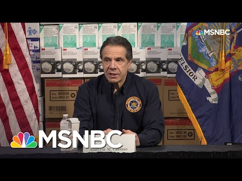 Cuomo Details Increase In Coronavirus Cases: 'We're Now Looking At A Bullet Train' | MSNBC