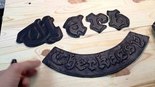 """How to do a 3D drawing on the skin. We make a letter. The technique of """"Davlenka"""" - series 1."""