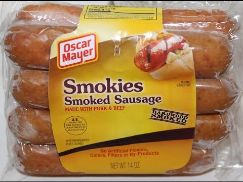 Oscar Mayer: Smokies Smoked Sausage Review