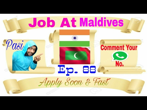 New Job at Maldives, Driver Indian licence accepted From Our agency abroad Jobs Of 2017