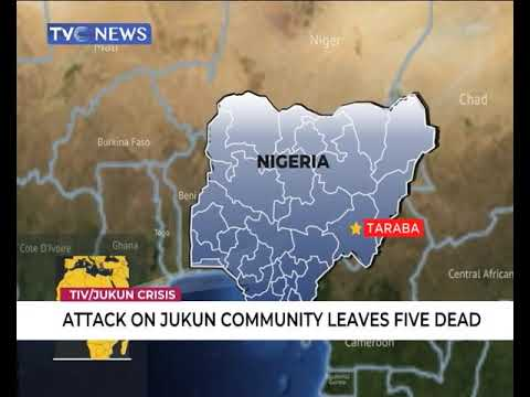 Attack on Jukun leaves five people dead
