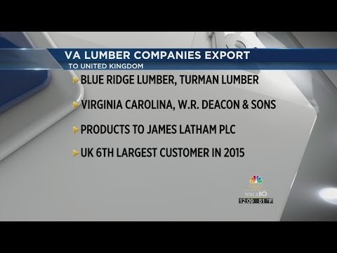 Governor McAuliffe announces new exports for Virginia lumber companies