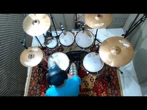 Tudo é Teu - Aline Barros Drum Cover - Marcos Paulo Pereira