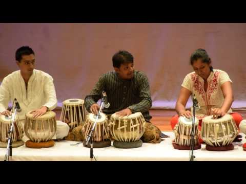 Annual show 2017 percussion item in JHAPTAAL Pentameter Diacritic Mnemonics of Jhaptaal