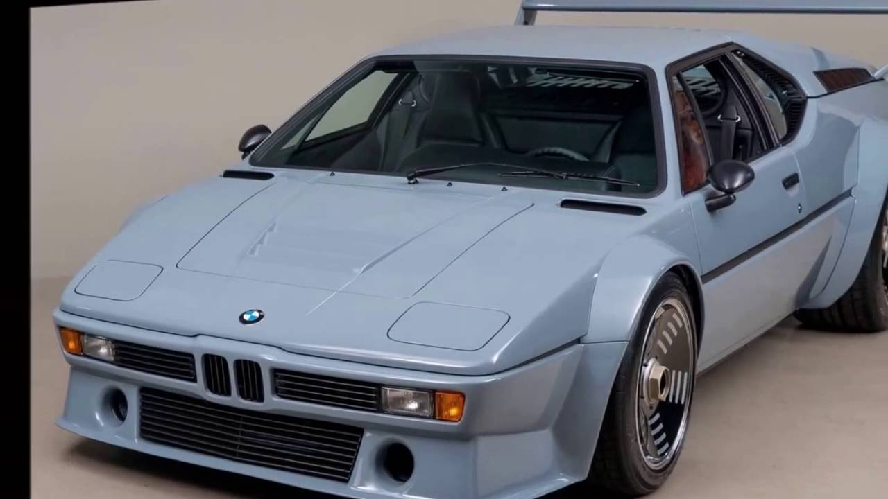 1979 Bmw M1 Procar - YouTube