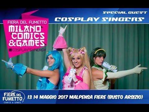 Concerto Cosplay Singers - Milano Comics & Games