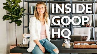 How Gwyneth Paltrow Turned A Warehouse Into A Home For Goop | Architectural Digest