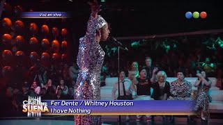 Fer Dente es Whitney Houston - Tu Cara Me Suena 2014