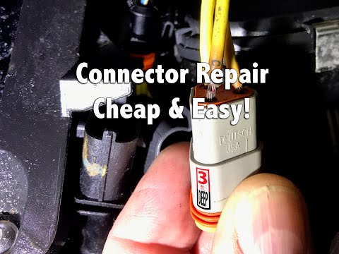 How To: Alternator Wiring Connector Repair