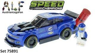 Lego Speed Champions 75891 Chevrolet Camaro ZL1 Race Car - Lego 75891 Speed Build