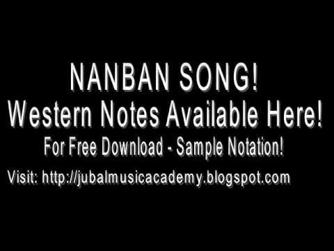 En Frienda Pola Yaaru Machan Song Piano | Nanban Song Notations|