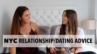 DATING/RELATIONSHIP ADVICE FOR LIVING IN NYC (GETTING GHOSTED, DATING APPS, FIRST DATES, ETC)