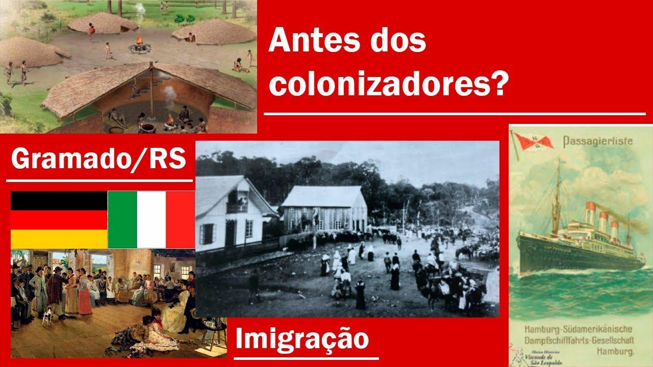 Quais foram os primeiros habitantes de Gramado?