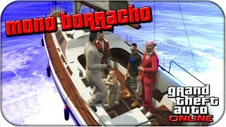 Mono borracho en GTA 5 ONLINE!! - Grand Theft Auto 5 Gameplay - sTaXx ( Hack )