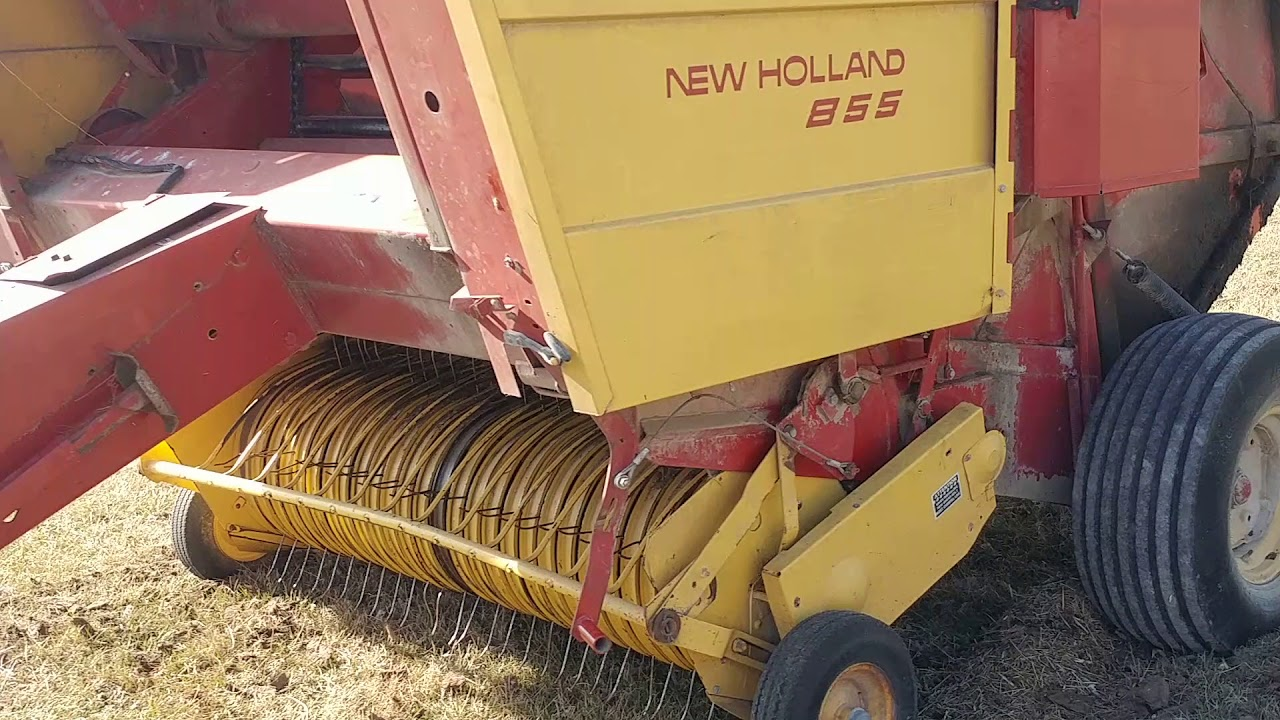 New Holland 855 Chain Baler 5x5 5 BigIron Auctions