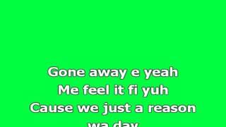 Alkaline   Gone Away Karaoke