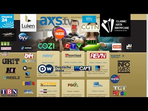 Free C band Satellite tv channels 2017 - YouTube