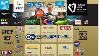 Free C band Satellite tv channels