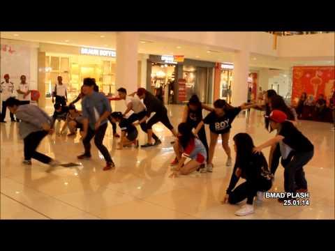 2014 Flashmob by BMAD Plash @ Suria Sabah, KK