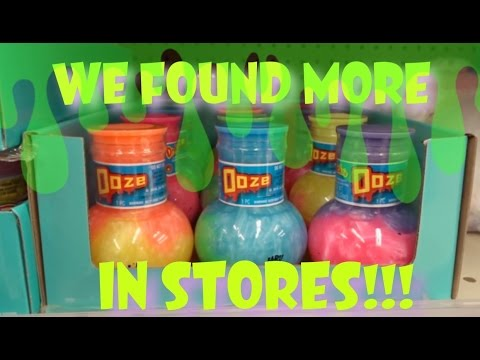 FINDING MORE SQUISHIES, SLIME, PUTTY, GOO, SQUEEZE TOYS, OOZE AND MORE IN STORES!! | VLOG