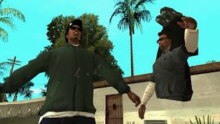 GTA San Andreas - Messing Up Cutscenes Animations