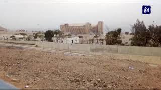 هدم صوامع حبوب العقبة - (13-1-2019)