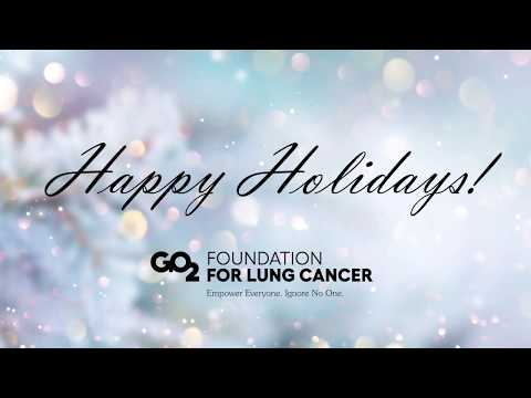 Happy Holidays from GO2 Foundation!