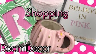 Five Below Room Decor Shopping 2019