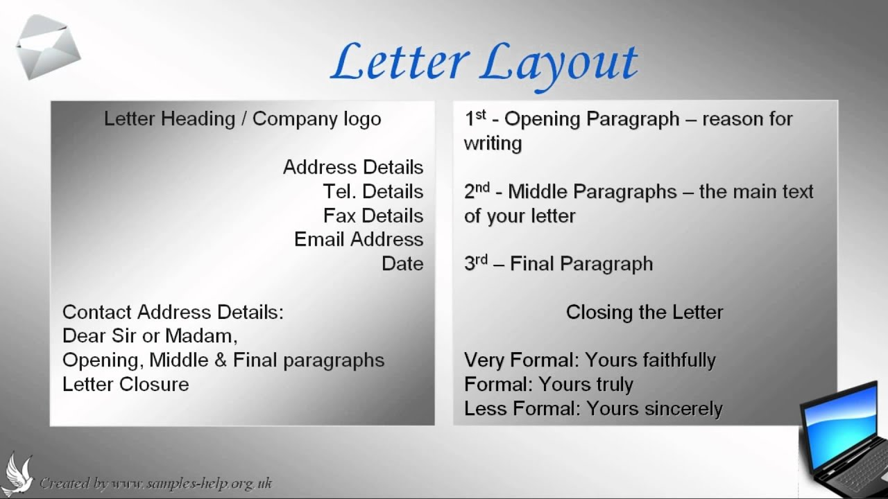 How To Write An Open Business Reference Letter  Youtube