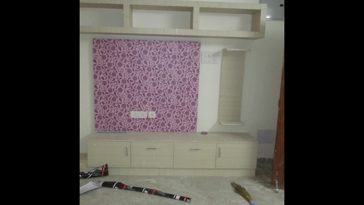 Modern TV Hall unit design by 8Streaks Interiors YouTube