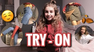 JESIENNY TRY-ON HAUL | UNBOXING INTERNETOWE MARKI