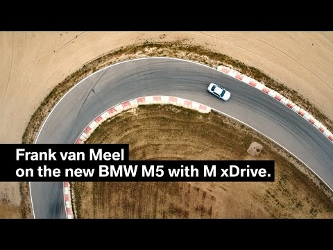Frank van Meel on the all-new BMW M5 with M xDrive.