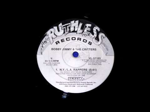 BOBBY JIMMY & THE CRITTERS N.Y / L.A RAPPERS