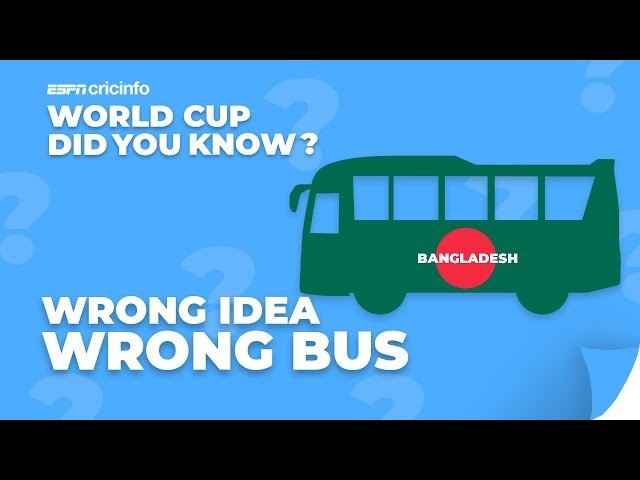 What happened when Bangladesh Got Out for 58? | Did You Know