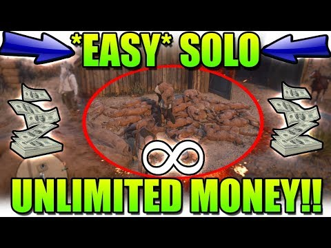 Patched - *EASY* SOLO UNLIMITED MONEY GLITCH ON RED DEAD
