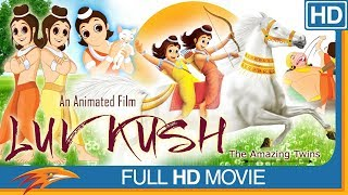 Luv Kush Hindi Full Movie HD || Animation Movie, Kids Movie, Children Movie || Eagle Hindi Movies