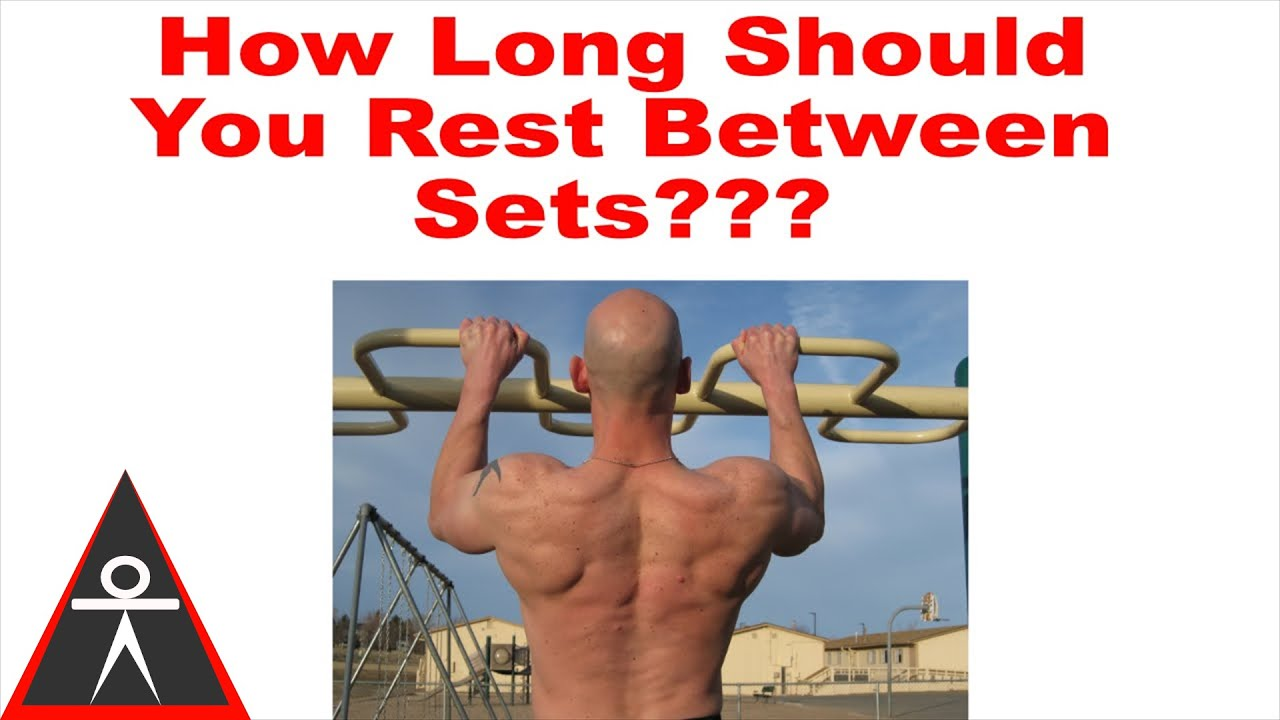 How Long Should You Rest Between Sets For Muscle Growth Youtube