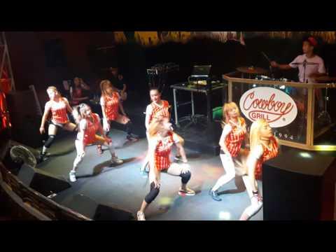 Trumpets dance by Mocha Girls